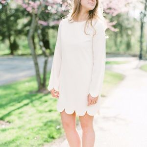 English Factory Scalloped Dress